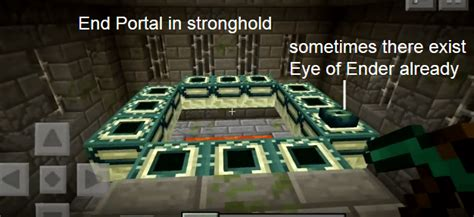 How to make an End Portal in Minecraft PE?