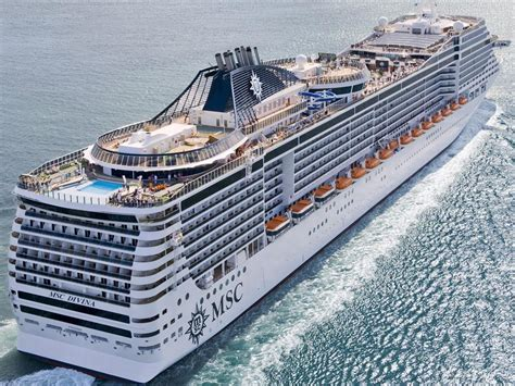 MSC Divina - Itinerary Schedule, Current Position