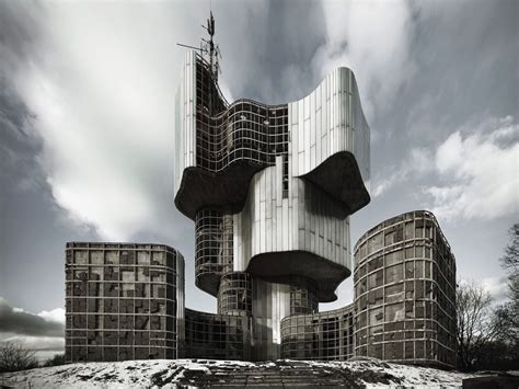 Incredible Photos of Brutalist Architecture in the Former